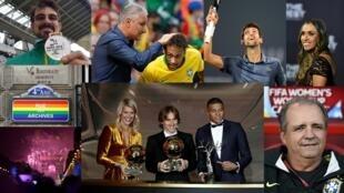 Fotos dos eventos esportivos que marcaram o ano.