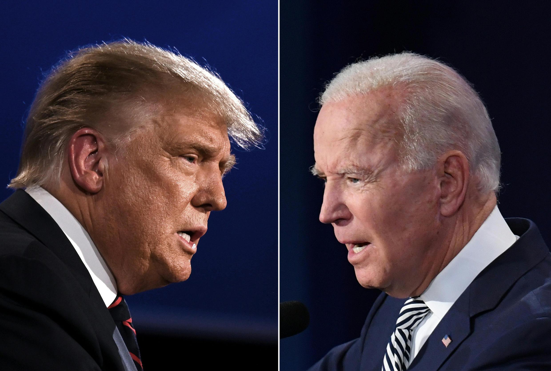 دونالد ترامپ و جو بایدن، دو نامزد رقیب در انتخابات ریاست جمهوری آمریکا، در آخرین هفتۀ پیش از رای گیری به دیدار شهروندان شتافتند