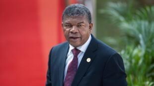 João Lourenço, Presidente angolano. Imagem de arquivo: 25 de Maio de 2019.