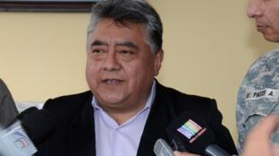 El viceministro del Interior de Bolivia, Rodolfo Illanes, en una foto sin fecha provista por la oficina de la presidencia boliviana.