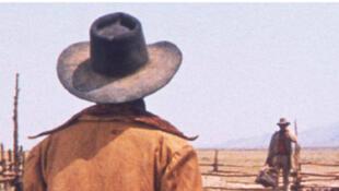 Il Etait Une Fois Dans l'Ouest. Film de Sergio Leone (1968).