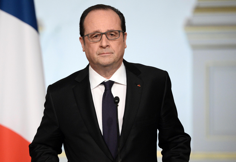 Президент Франции Франсуа Олланд, 30 марта 2016.