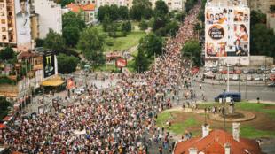 Les manifestations se succèdent à Belgrade pour protester contre le gouvernement.