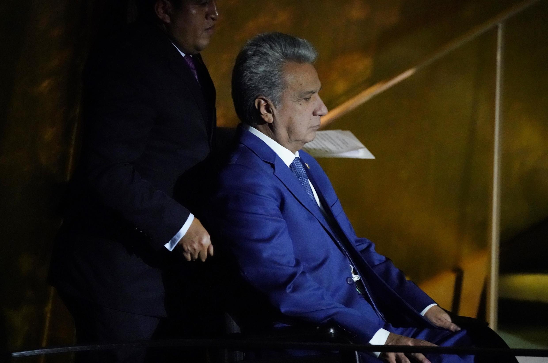 O presidente do Equador, Lenin Moreno