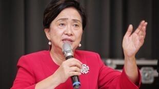 香港民主黨前主席劉慧卿。(陳柏州/大紀元)