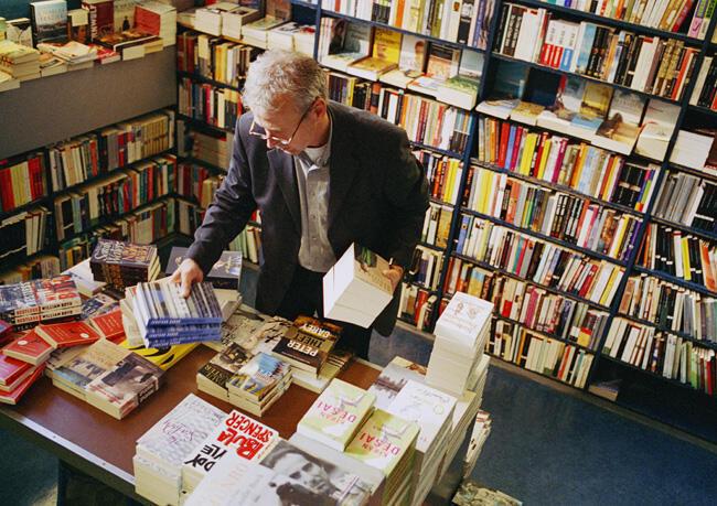 Según el sindicato de la librería, unas 200 librerías cierran anualmente en Francia.