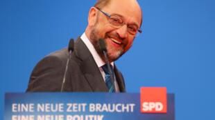 Martin Schultz, líder del SPD.