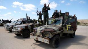 Dakarun janar Haftar a wani yanki daf birnin Tripoli