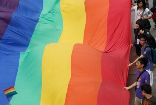 Một cuộc tuần hành vì quyền của người đồng tính ở Hong Kong năm 2011.