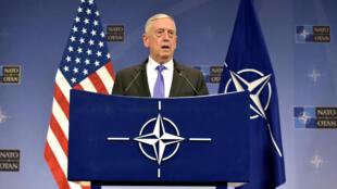 Jim Mattis, secretário da Defesa dos Estados Unidos.