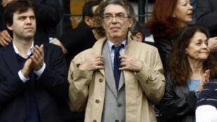 意大利国际米兰足球俱乐部主席马西莫•莫拉蒂(Massimo Moratti)。