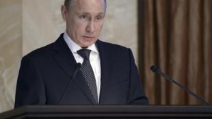 Владимир Путин на коллегии ФСБ 26/03/2015