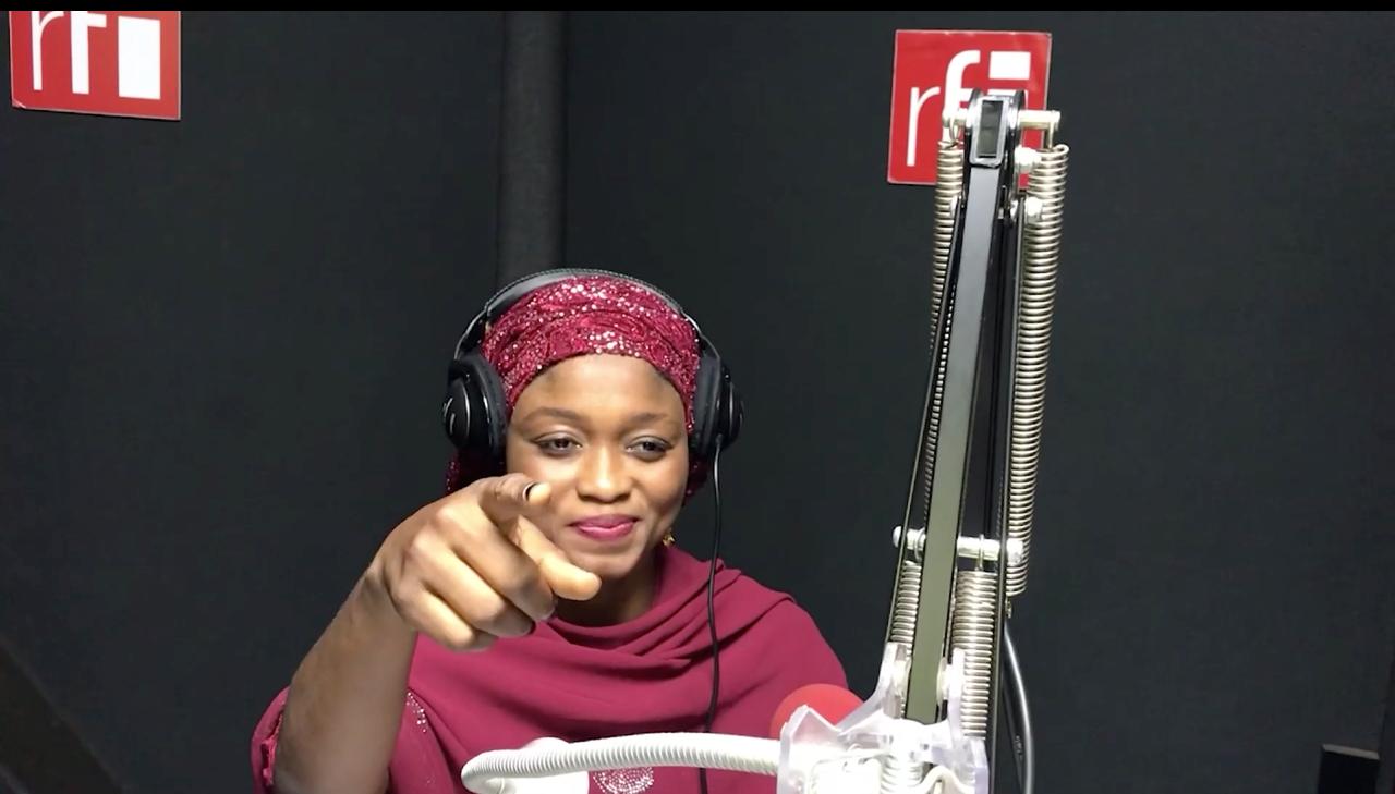 Zainab Ibrahim mai gabatar da shirin Rayuwata daga Sashen Hausa na RFI