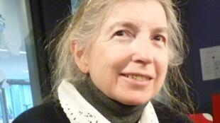 Norma Sáchez en los estudios de RFI