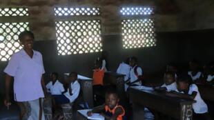 Une école à Wangata, commune de la ville de Mbandaka, en RDC (archive)