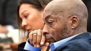 Dewayne Johson durante o processo contra a Monsanto, em 9 de agosto