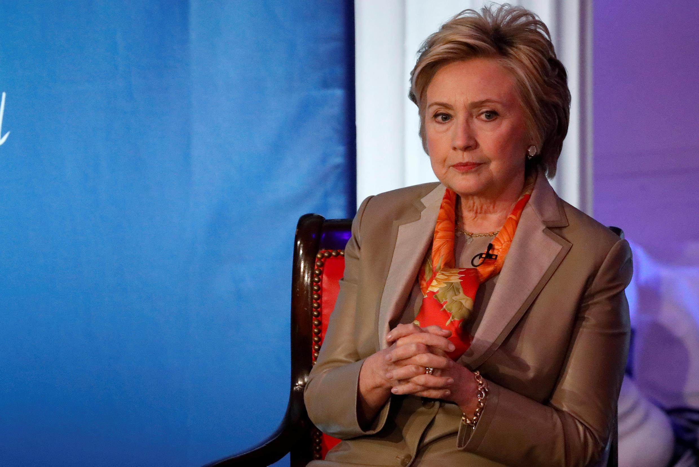 Hillary Clinton en 2017.