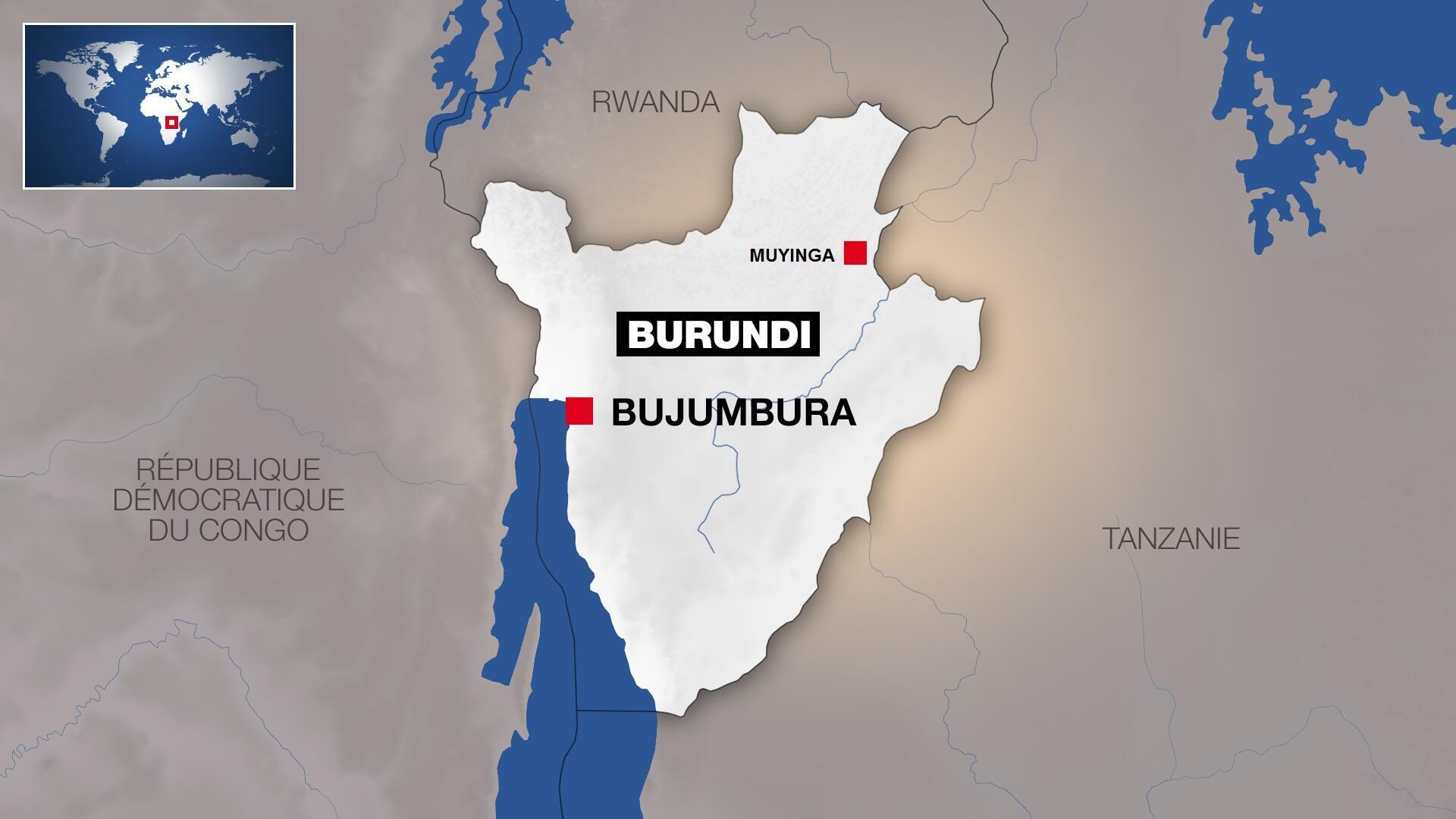 L'incident a eu lieu à une quinzaine de kilomètres de Muyinga, dans le nord-est du Burundi.