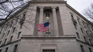 Sede del Departamento de Justicia de Estados Unidos, el 19 de febrero de 2020 en Washington