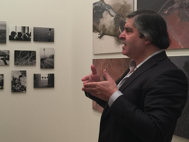 Jacinto Lageira, Comissário da exposição sobre Ângelo de Sousa.
