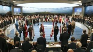 Cumbre de la OTAN en Newport, en Gales, este 4 de septiembre de 2014.