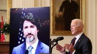 Joe Biden Justin Trudeau