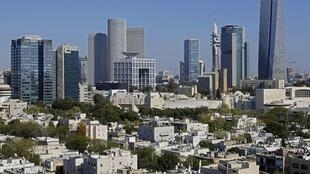 Vue de Tel-Aviv.