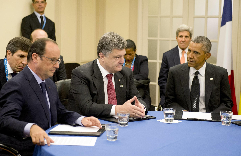 Tổng thống Porochenko tại Thượng đỉnh Newport - Reuters