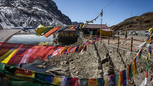 Des militaires indiens seraient passés par l'Etat indien du Sikkim, à la frontière avec le Tibet, selon Pékin. (Photo prise dans l'Etat de Sikkim le 11 février 2017).