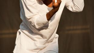 La chanteuse béninoise Perrine Fifadji.