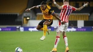 L'attaquant de Wolverhampton Adama Traoré.