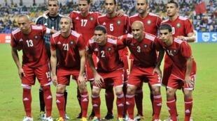 L'équipe du Maroc lors de la CAN 2012.