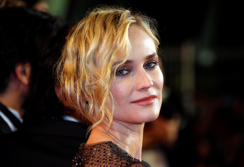 德國電影『憑空而來』女主角黛安克魯格登上紅地毯