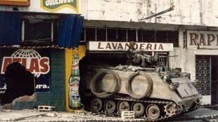Cientos de panameños murieron durante la invasión estadounidense.