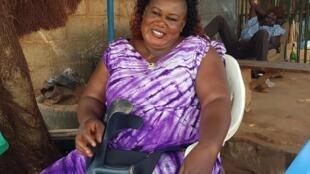 Rasmata Konfé, présidente de l'association Wend-Panda à Ouagadougou
