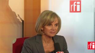 Elisabeth Guigou, députée Ps de Seine-Saint-Denis, présidente de la Commission des Affaires étrangères de l'Assemblée nationale et ancienne ministre chargée des Affaires européennes.
