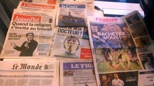 Diários franceses 21/04/2015