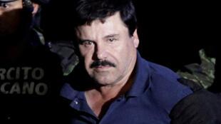 """Julgamento de Joaquin """"El Chapo"""" Guzman vai começar em setembro, nos Estados Unidos. Foto do 08/01/16"""