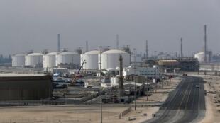 Ras Laffan, le site principal du Qatar pour la production de gaz naturel liquéfié et de gaz  liquide, à 80 km au nord de la capitale Doha. Photo prise le 6/02/2017