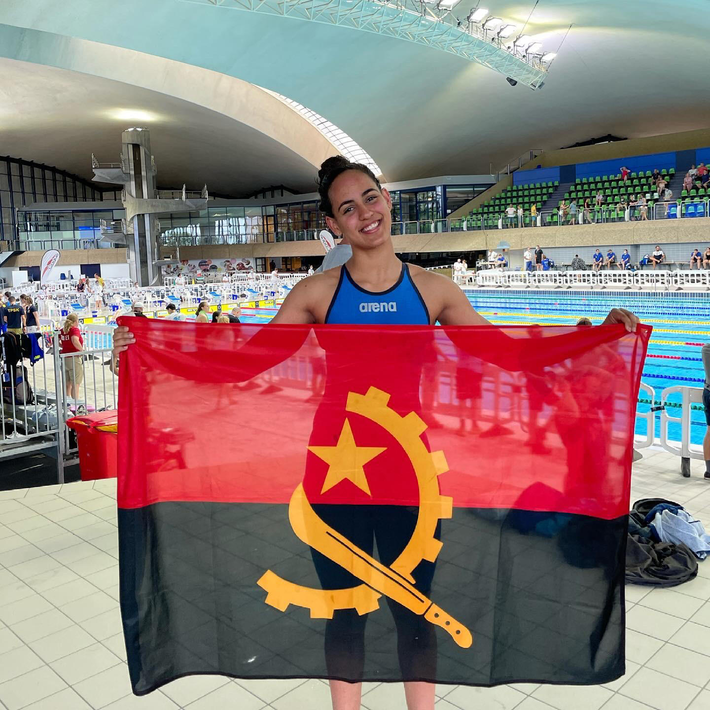 Catarina Sousa - Nadadora - Natação - Desporto - JO2020 - Jogos Olímpicos - Tóquio - Japão - Angola - Angolana