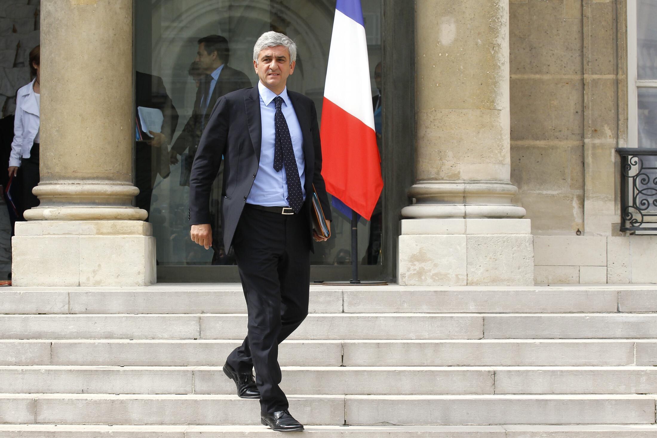 L'ancien ministre de la Défense, au palais de l'Elysée en juillet 2010