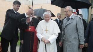 Embarque do Papa Bento 16 nesta sexta-feira, 14, rumo ao Líbano onde inicia uma visita de três dias.