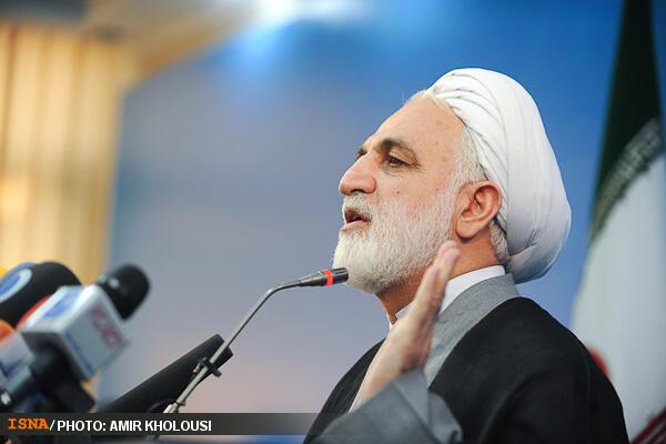 حجت الاسلام محسنی اژهای، سخنگوی قوه قضائیه