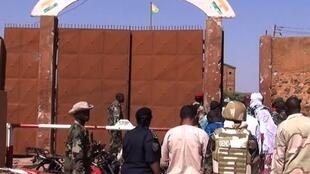 L'entrée de la prison de Koutoukalé, près de Niamey, au Niger. (Image d'illustration)
