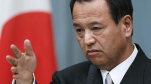 日本经济再生TTP担当大臣甘利明 2013年12月5日