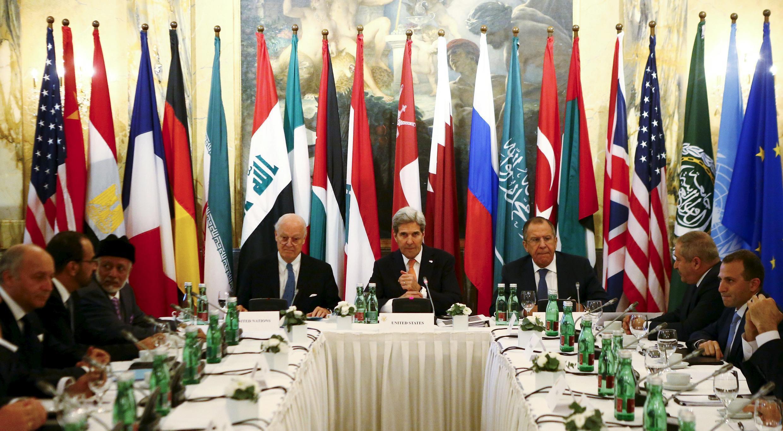 Hội nghị quốc tế về Syria, tại Vienna, Áo, ngày 14/11/2014