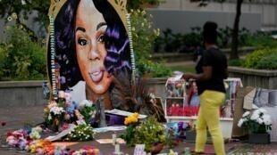 À Louisville, hommage à Breonna Taylor, le 11 septembre 2020.