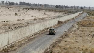 Patrouille iranienne à la frontière avec l'Afghanistan (photo d'illustration).