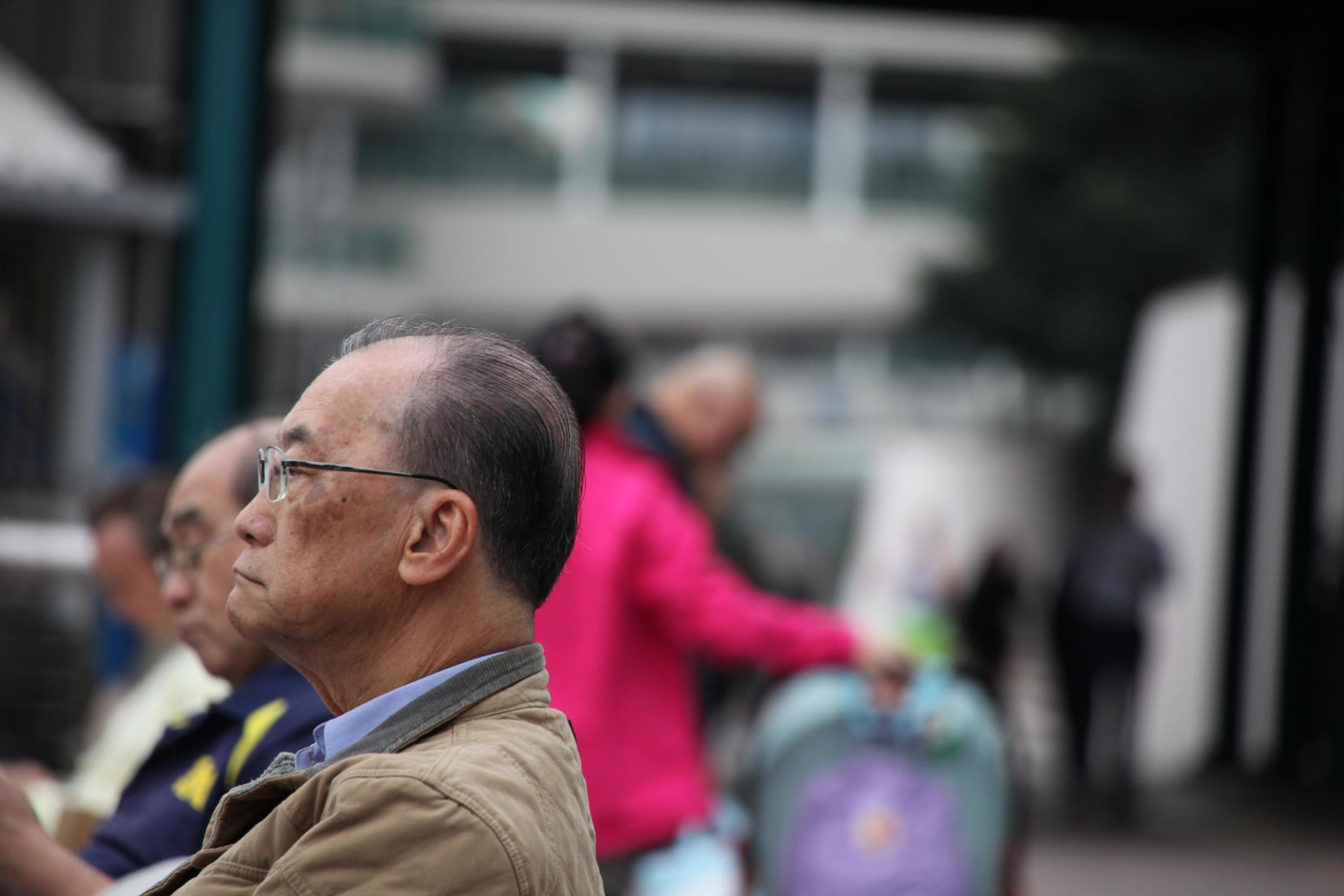 In Hong Kong, elderly can retire only at 65 if they want a state allowance