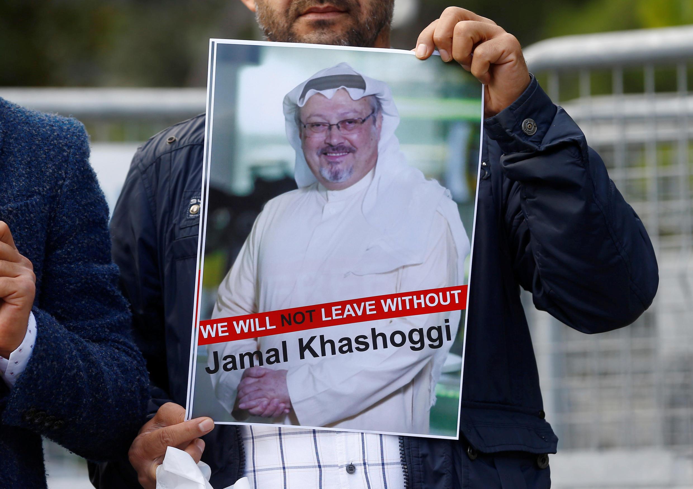 Manifestação para exigir a verdade sobre o desaparecimento de Jamal